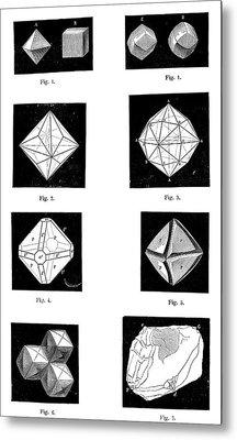 Types Of Diamonds Metal Print