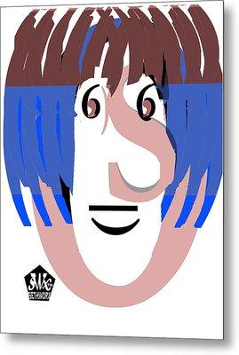 Typortraiture Ringo Starr Metal Print by Seth Weaver