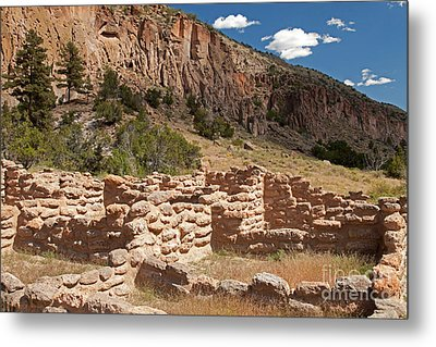 Tyuonyi Bandelier National Monument Metal Print
