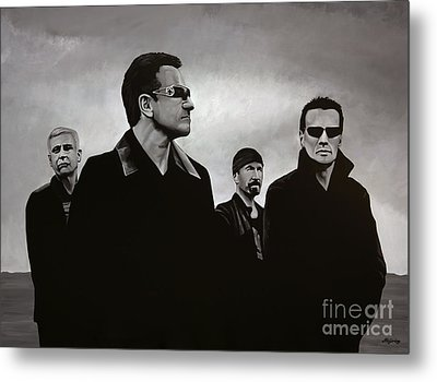 U2 Metal Print by Paul Meijering