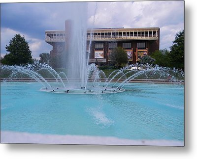 Ucf Reflection Pond 2 Metal Print