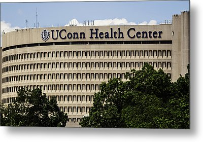 University Of Connecticut Uconn Health Center Metal Print by Phil Cardamone