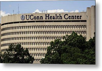 University Of Connecticut Uconn Health Center Metal Print