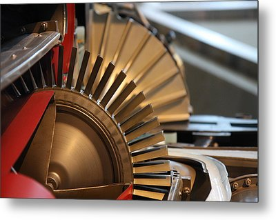 Udvar-hazy Center - Smithsonian National Air And Space Museum Annex - 121210 Metal Print