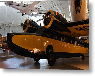 Udvar-hazy Center - Smithsonian National Air And Space Museum Annex - 1212100 Metal Print by DC Photographer