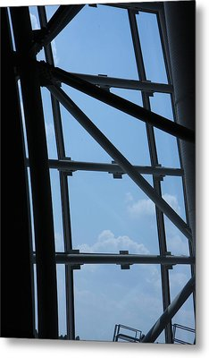 Udvar-hazy Center - Smithsonian National Air And Space Museum Annex - 1212103 Metal Print by DC Photographer