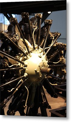 Udvar-hazy Center - Smithsonian National Air And Space Museum Annex - 121217 Metal Print