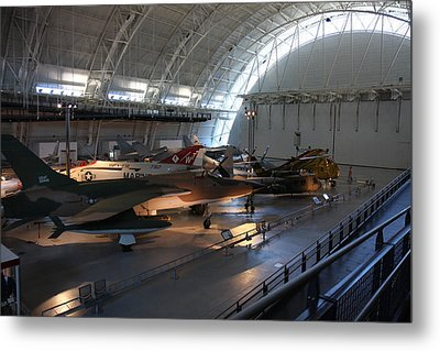Udvar-hazy Center - Smithsonian National Air And Space Museum Annex - 12125 Metal Print by DC Photographer