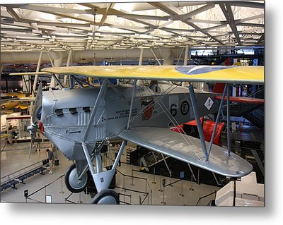 Udvar-hazy Center - Smithsonian National Air And Space Museum Annex - 121252 Metal Print