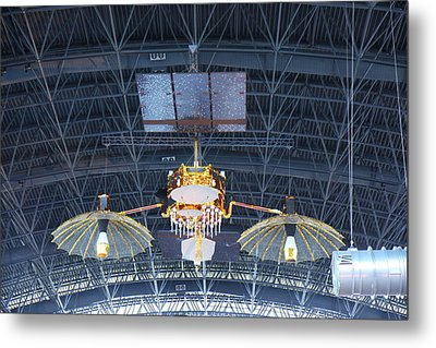 Udvar-hazy Center - Smithsonian National Air And Space Museum Annex - 121256 Metal Print by DC Photographer