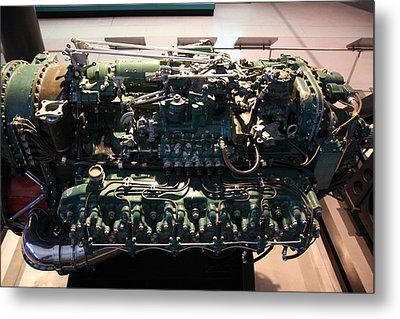 Udvar-hazy Center - Smithsonian National Air And Space Museum Annex - 12129 Metal Print by DC Photographer