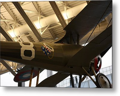 Udvar-hazy Center - Smithsonian National Air And Space Museum Annex - 121294 Metal Print by DC Photographer