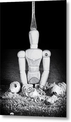 Uh Oh Screwed Again Metal Print by Tom Mc Nemar