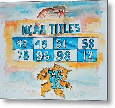 Uk Champs Metal Print