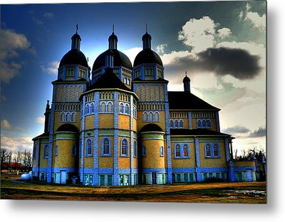 Ukrainian Catholic Church Of The Immaculate Conception Metal Print by Larry Trupp
