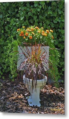Ultimate Flower Pot 2 Metal Print by Dodie Ulery