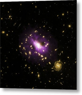 Ultramassive Black Hole Metal Print by X-ray: Nasa/cxc/stanford/j.hlava