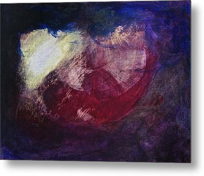 Metal Print featuring the painting Ultrasound by Tracey Myers