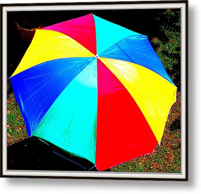 Umbrella-2 Metal Print by Anand Swaroop Manchiraju