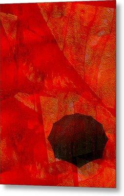 Umbrella Metal Print by Jack Zulli