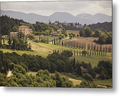Metal Print featuring the photograph Umbria by Uri Baruch