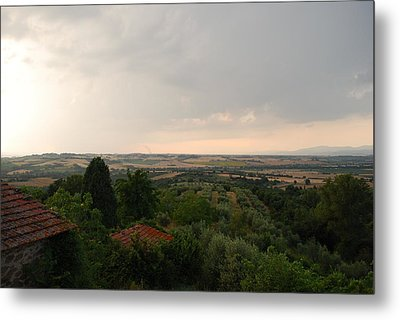 Umbrian View 2 Metal Print by Dorothy Berry-Lound