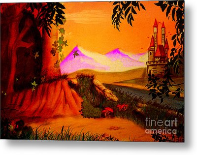Unce Upon A Time Metal Print
