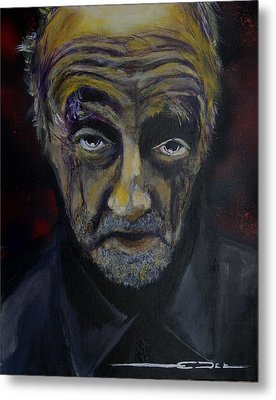 Metal Print featuring the painting Uncle Only's Farewell by Eric Dee