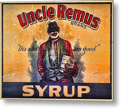 Uncle Remus  Metal Print