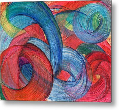 Uncovered Curves Metal Print