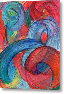 Uncovered Curves-vertical Metal Print