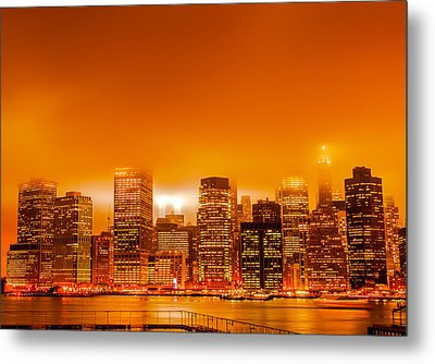 Under A Blood Red Sky Part One Metal Print by Alex Hiemstra