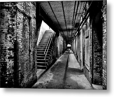 Under Alcatraz Metal Print by Benjamin Yeager