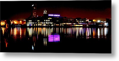 Under Armour At Night Metal Print by William Bartholomew