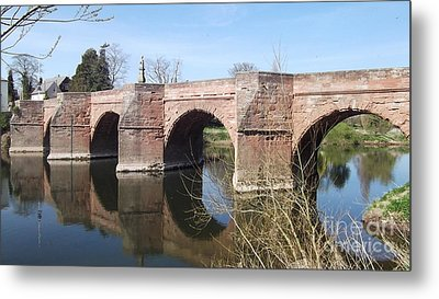 Under The Arches Metal Print by Tracey Williams
