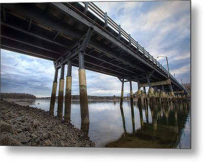 Under The Bridge Metal Print by Eric Gendron