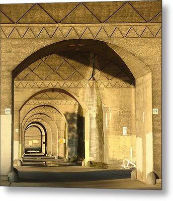 Under The Bridge Metal Print by Joseph Skompski