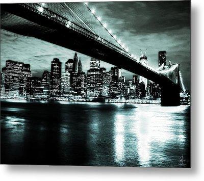 Under The Bridge Metal Print by Pennie  McCracken