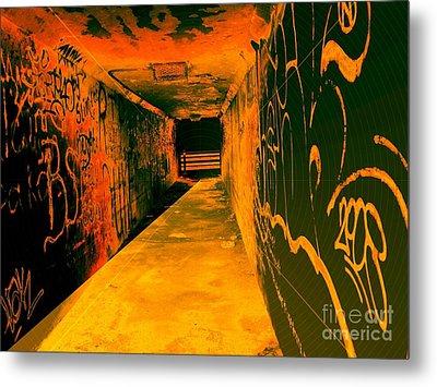 Under The Bridge Metal Print by Ze DaLuz