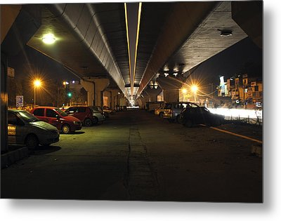 Under The Flyover  Metal Print by Sumit Mehndiratta