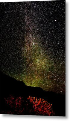 Metal Print featuring the photograph Under The Milky Way by Greg Norrell