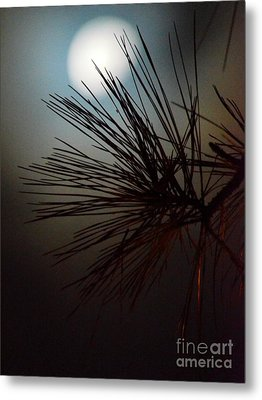 Under The Moon II Metal Print by Maria Urso
