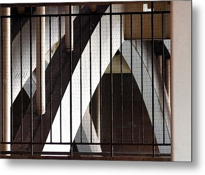 Under The Overground Metal Print