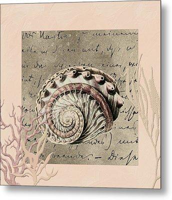 Under The Sea Metal Print by Bonnie Bruno