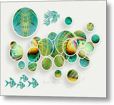 Under The Sea Metal Print by Gayle Odsather