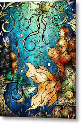 Under The Sea Metal Print by Mandie Manzano
