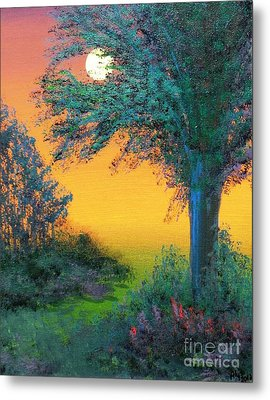Under The Solstice Moon Metal Print by Alys Caviness-Gober