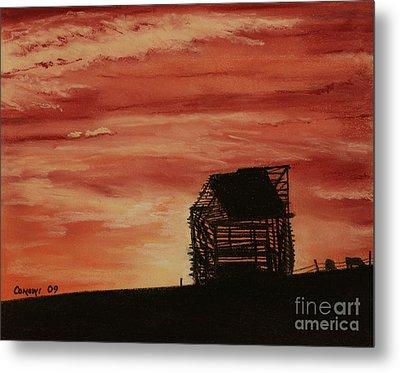 Under The Sunset Metal Print by Stanza Widen