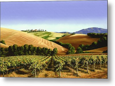Under The Tuscan Sky Metal Print