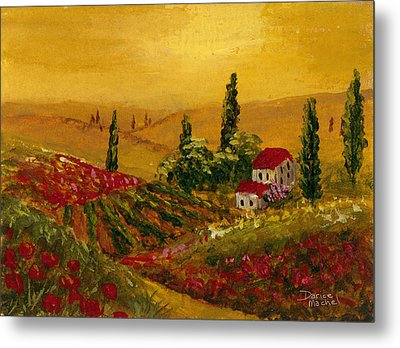 Under The Tuscan Sun Metal Print by Darice Machel McGuire